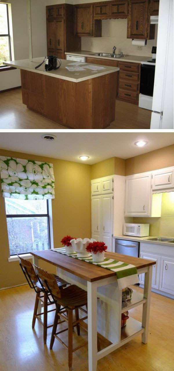 image16-14 | 25 идей переделки старой кухонной мебели