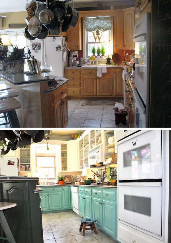 image2-80 | 25 идей переделки старой кухонной мебели
