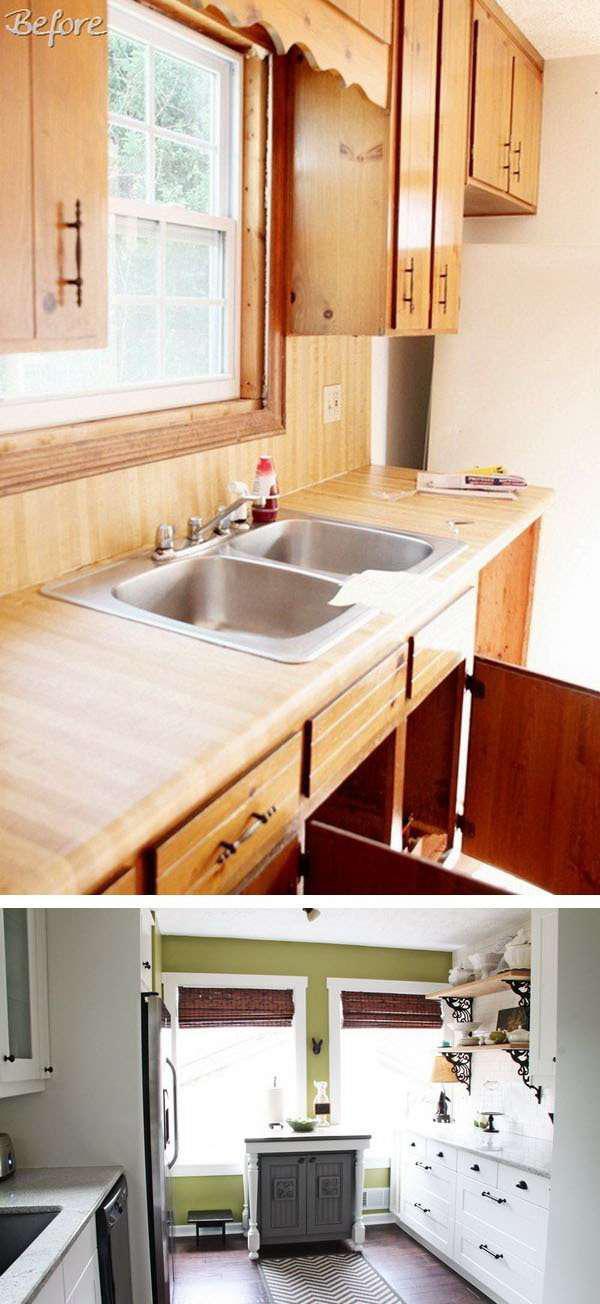 image21-7 | 25 идей переделки старой кухонной мебели