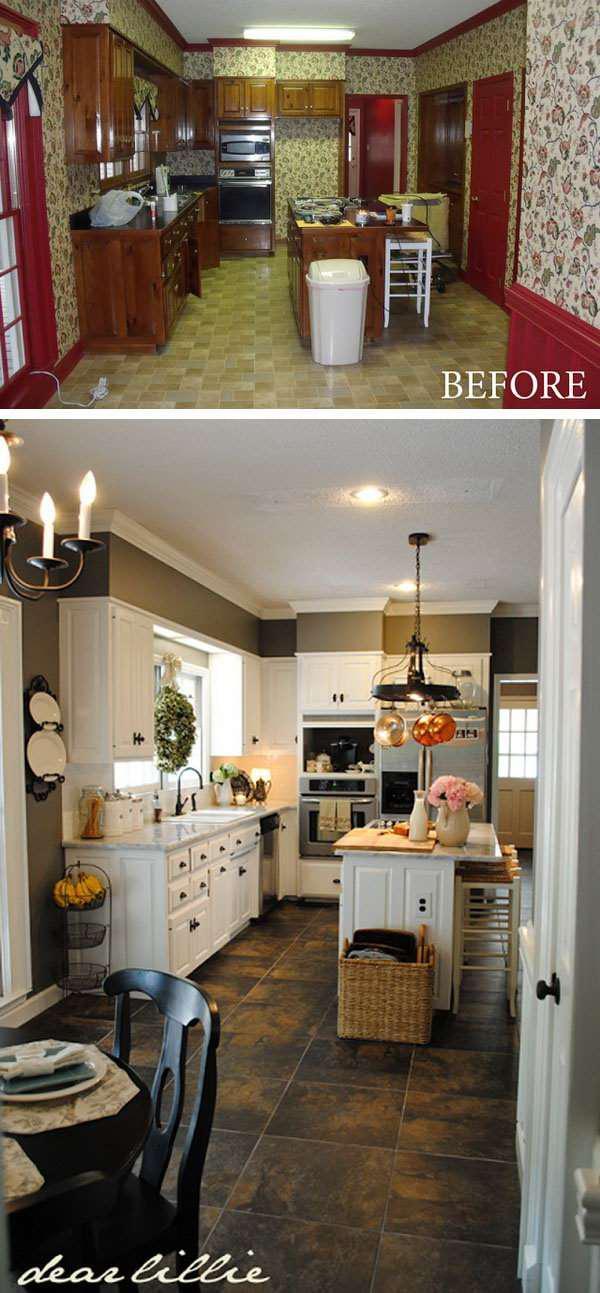 image3-80 | 25 идей переделки старой кухонной мебели