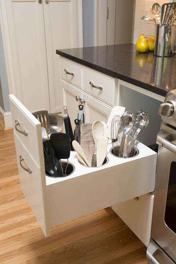 image5-53 | 10 оригинальных способов хранения столовых приборов