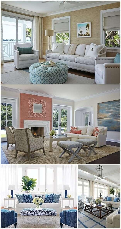image5-75 | 10 идей как украсить гостиную белым диваном