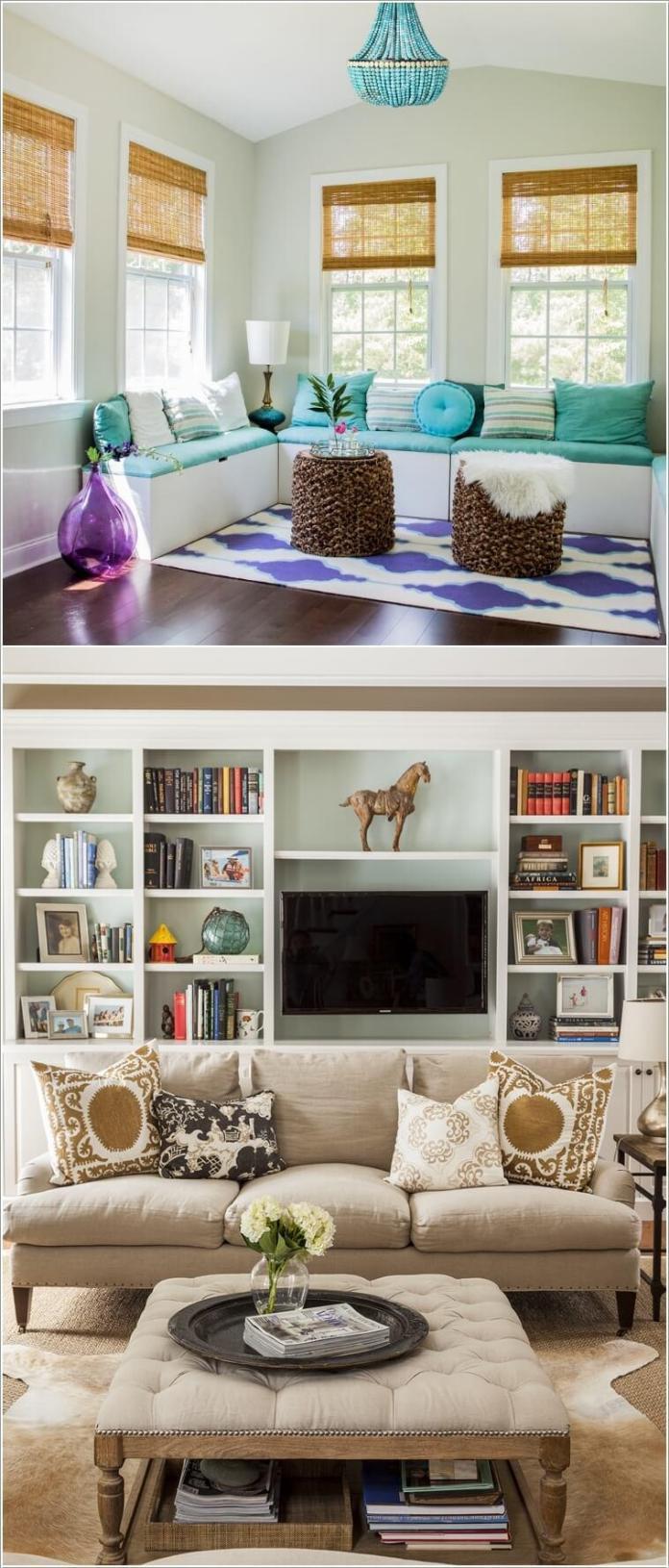 image5-90   10 способов визуально увеличить маленькую гостиную