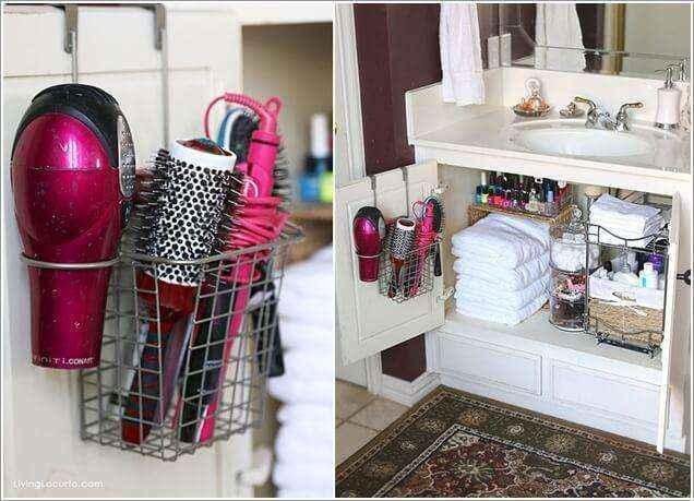 image7-33   Как организовать удобное хранение вещей в ванной