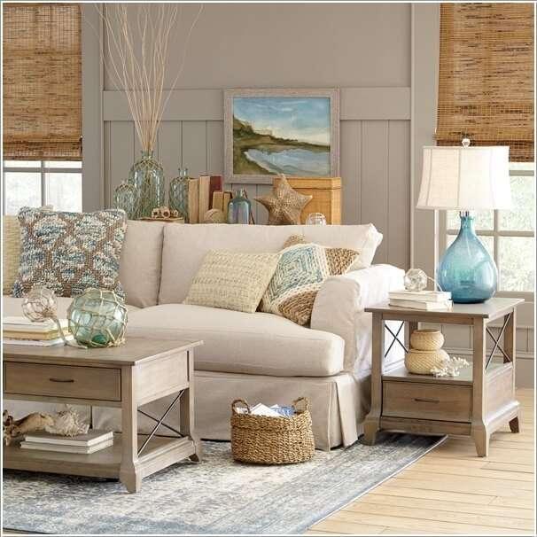 image7-72 | 10 идей как украсить гостиную белым диваном