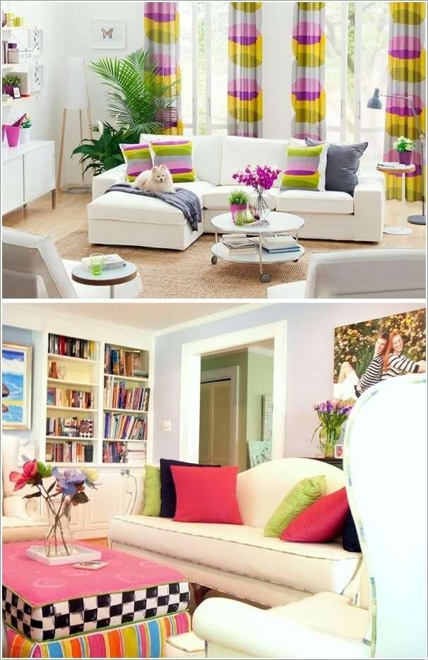 image8-69 | 10 идей как украсить гостиную белым диваном