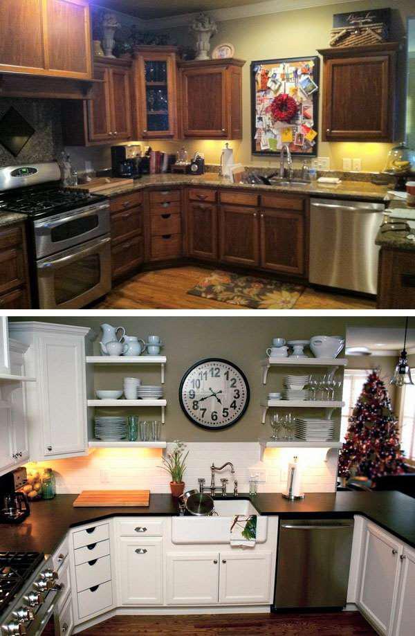 image8-73 | 25 идей переделки старой кухонной мебели