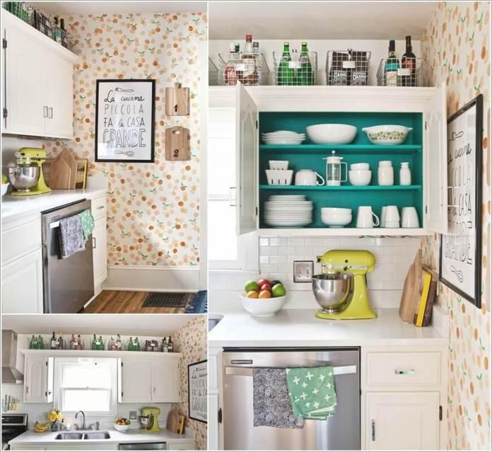 image2-57   10 способов использования пространства над кухонными шкафами
