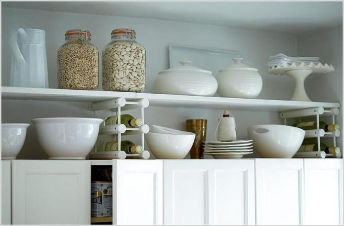 image5-56   10 способов использования пространства над кухонными шкафами