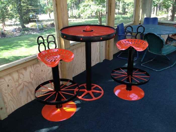 image1-34 | Барные стулья из автозапчастей в стиле лофт своими руками