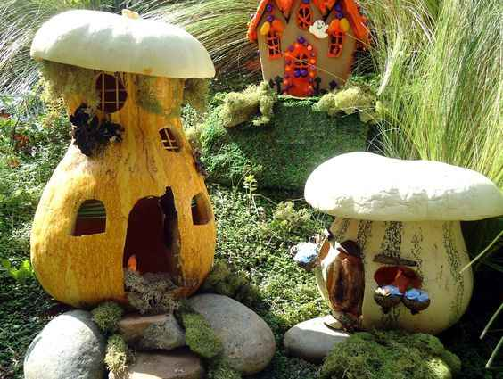 image10-42 | Очаровательные домики фей из тыквы