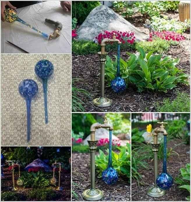 image13-1 | 15 идей нестандартного оформления садовых фонарей