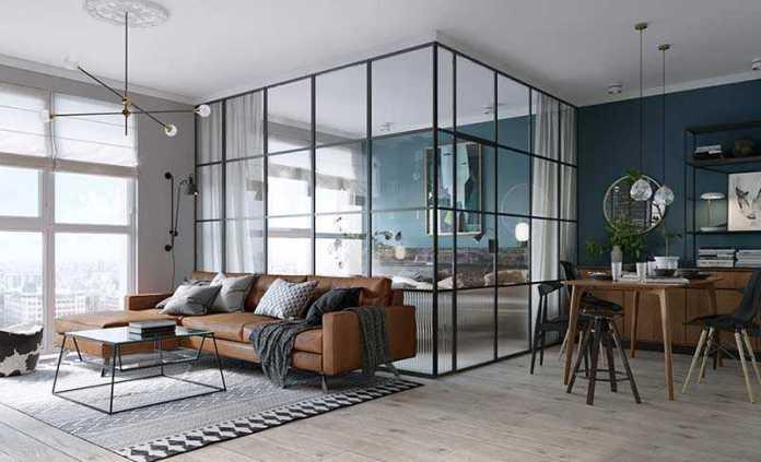image18-21 | 25 межкомнатных стеклянных дверей в интерьере