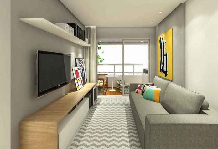 image26-8   30 идей дизайна маленьких гостиных