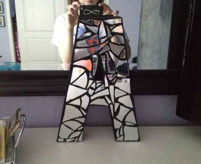 image3-42   Декор из разбитого зеркала