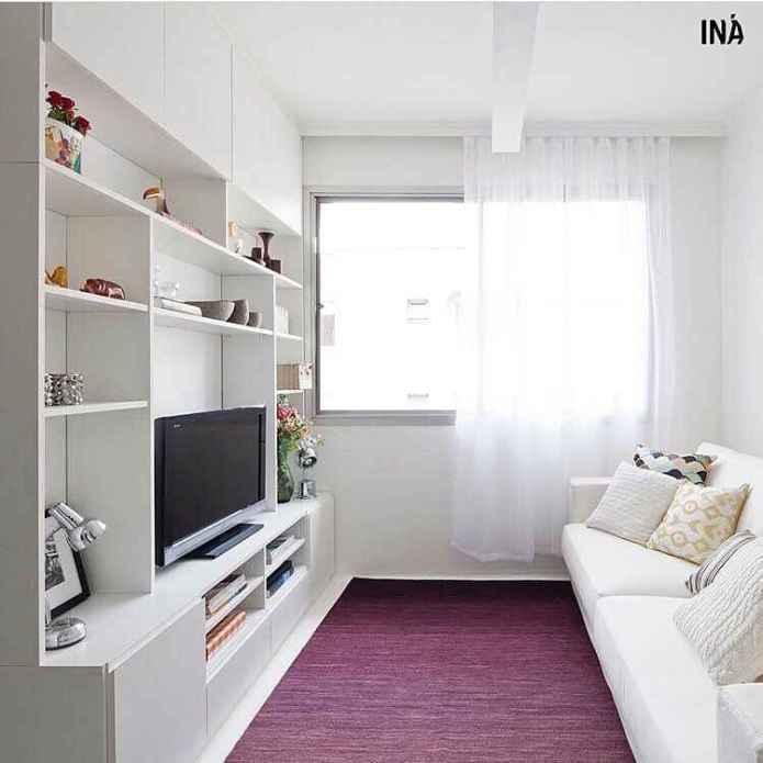 image6-60   30 идей дизайна маленьких гостиных