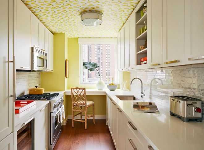 image1-17   9 примеров узких кухонь