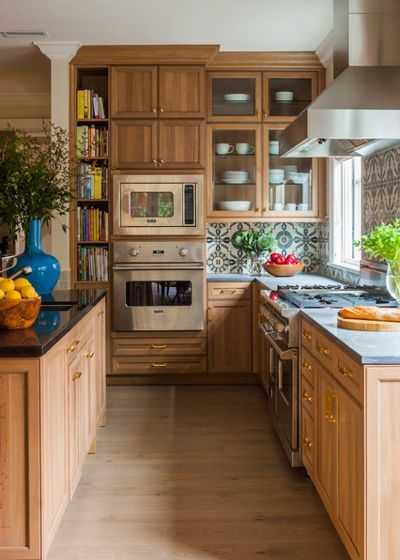 image10-16   9 примеров узких кухонь