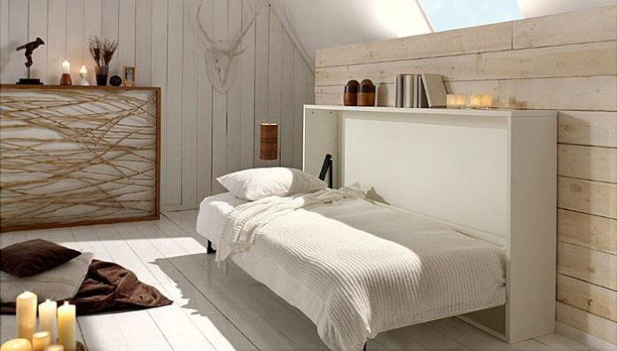 image13-29 | Идеи которые помогут спрятать гостевую кровать