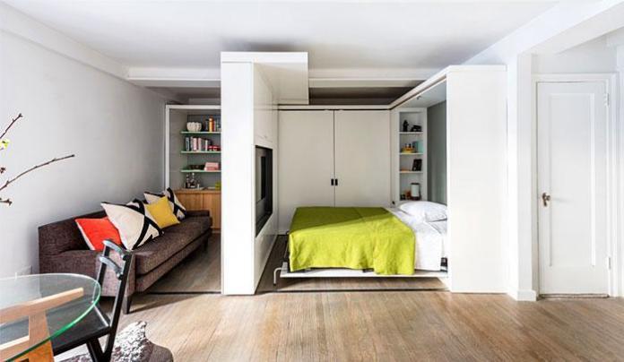 image15-19 | Идеи которые помогут спрятать гостевую кровать
