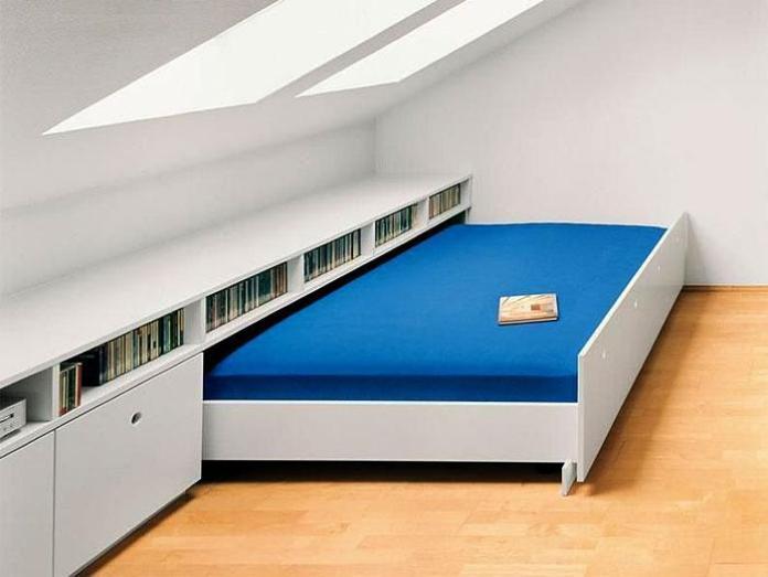 image22-7 | Идеи которые помогут спрятать гостевую кровать