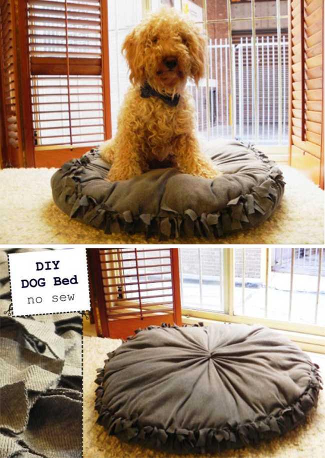 image25   Кровати для домашних животных из подручных материалов