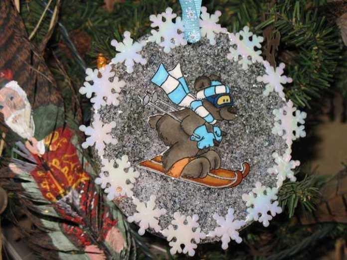 image26-3 | Новогодние и Рождественские украшения из компакт-дисков
