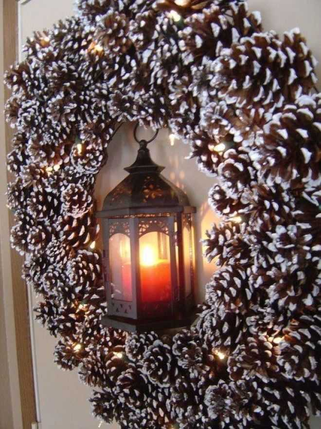 image4-12 | Праздничный декор из шишек своими руками