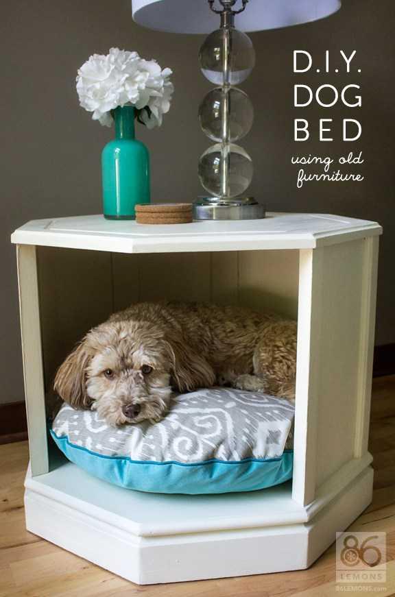 image4-14   Кровати для домашних животных из подручных материалов