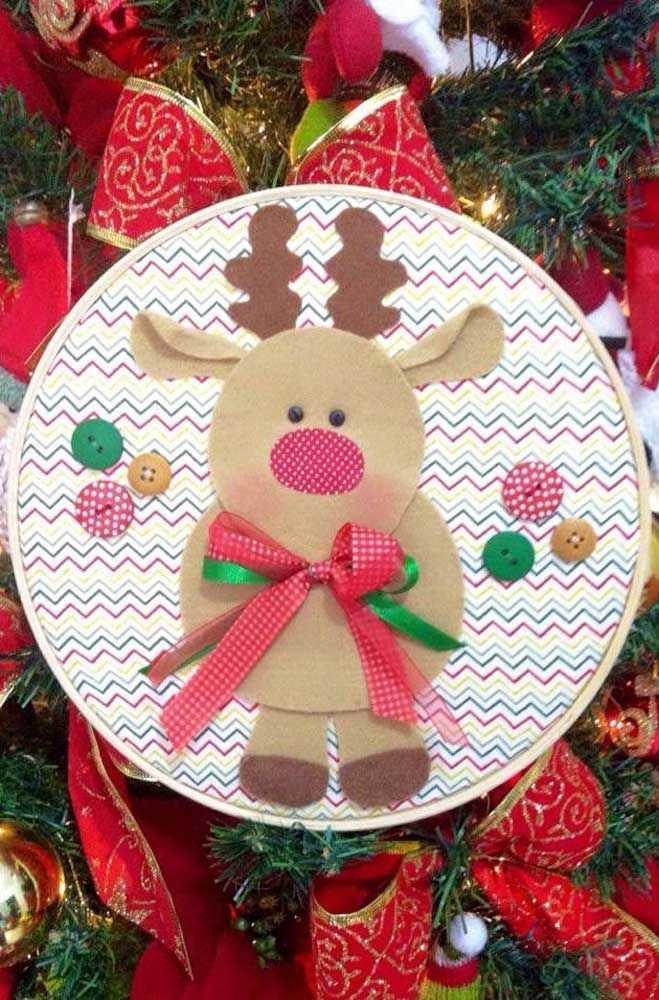 image7-28   Новогодние украшения из ненужных компакт-дисков