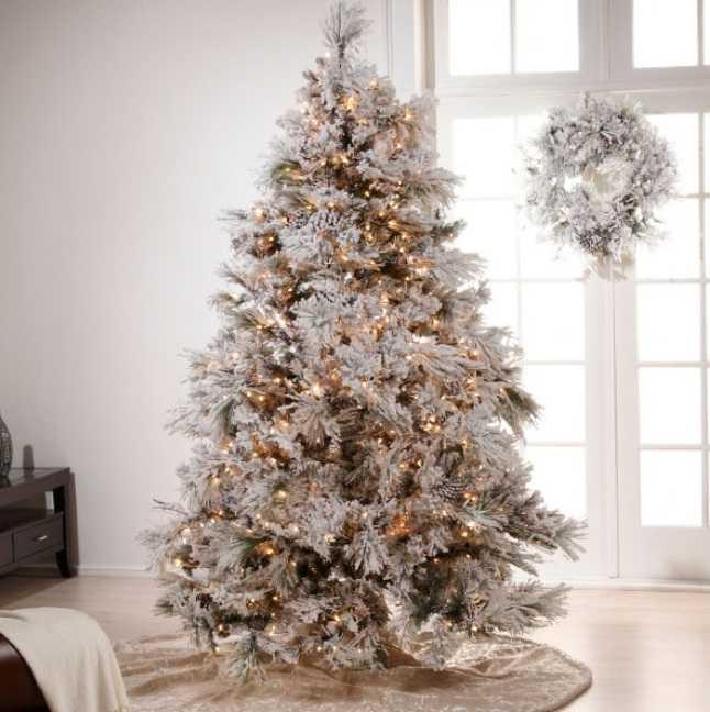 image9-24 | Белые елки как часть декора