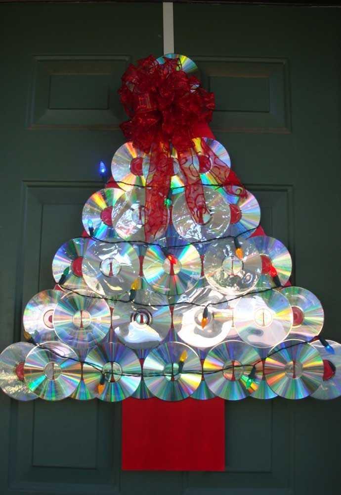 image9-30 | Новогодние и Рождественские украшения из компакт-дисков