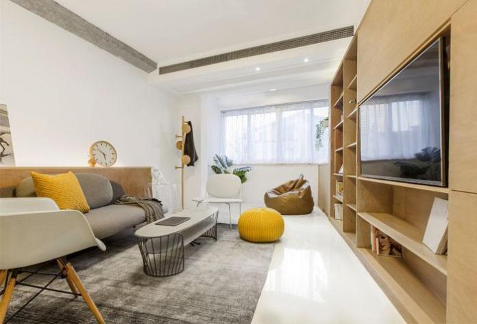 image3-4   Современный дизайн квартиры площадью 40 м²