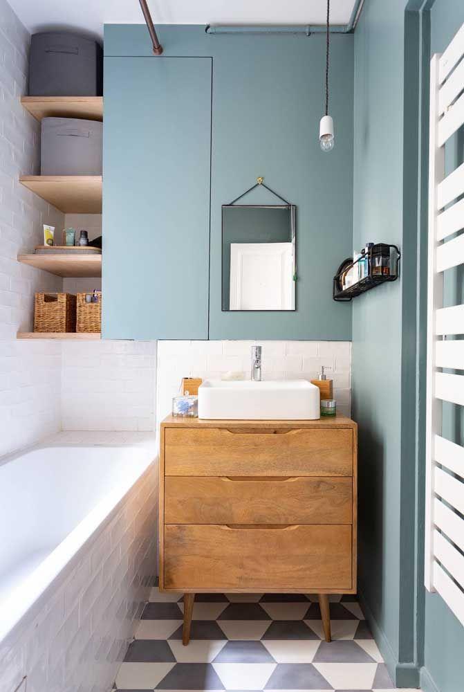 image21-7   Вдохновляющие идеи для маленьких ванных комнат