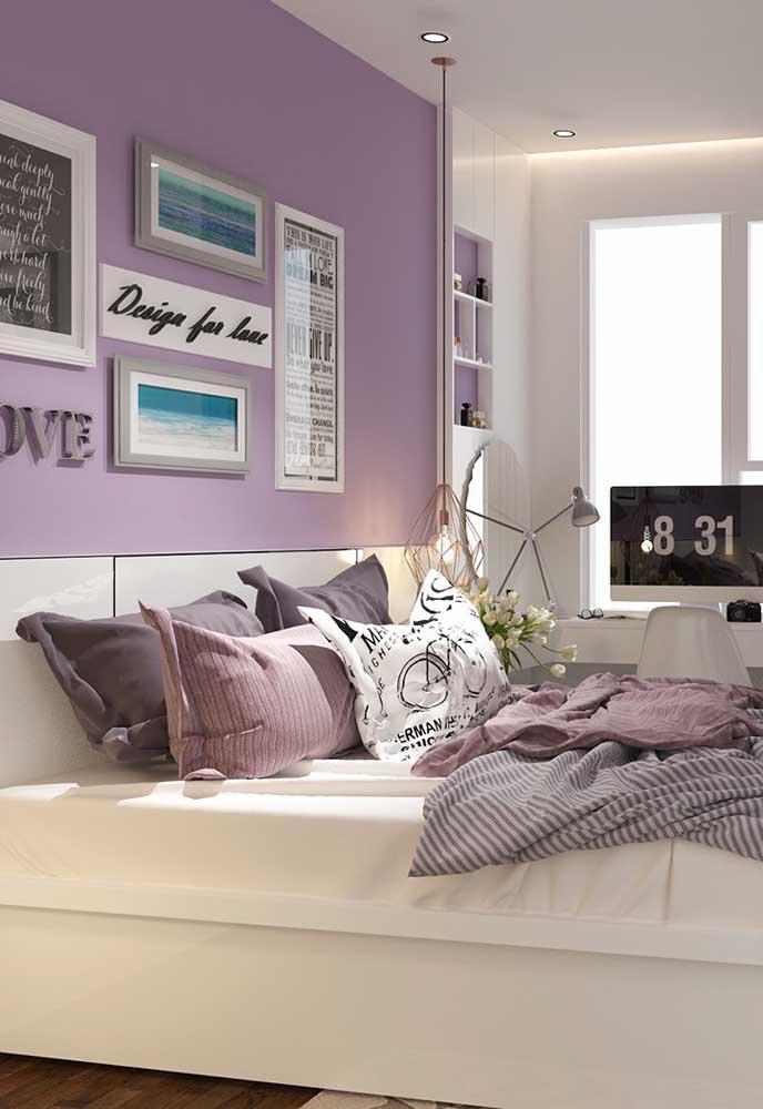 image22-4   Фиолетовый в интерьере: 60 идей, как и с чем сочетать