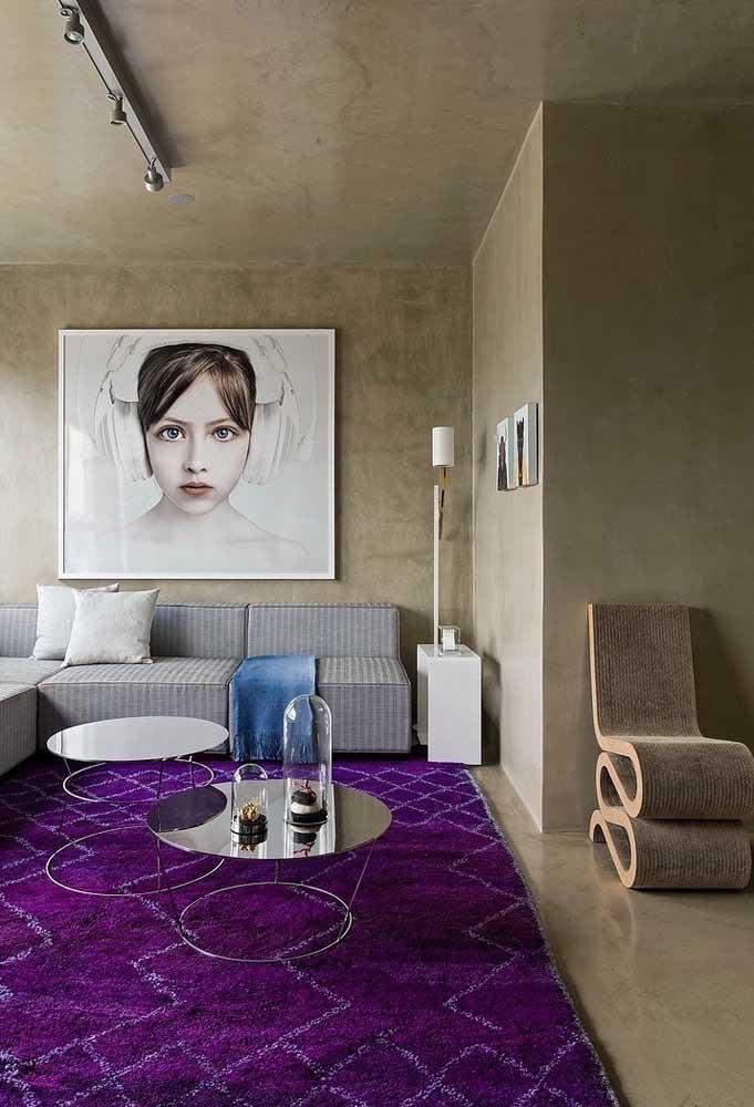 image24-4   Фиолетовый в интерьере: 60 идей, как и с чем сочетать