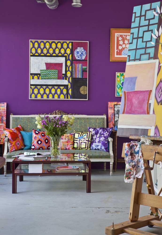 image31-4   Фиолетовый в интерьере: 60 идей, как и с чем сочетать