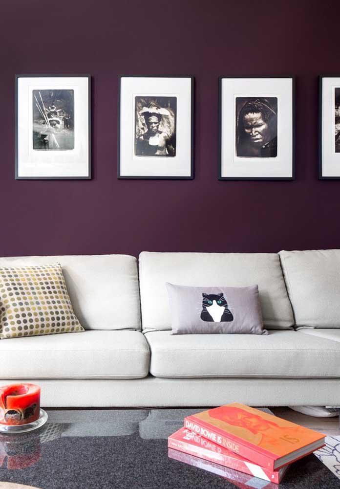 image37-4   Фиолетовый в интерьере: 60 идей, как и с чем сочетать