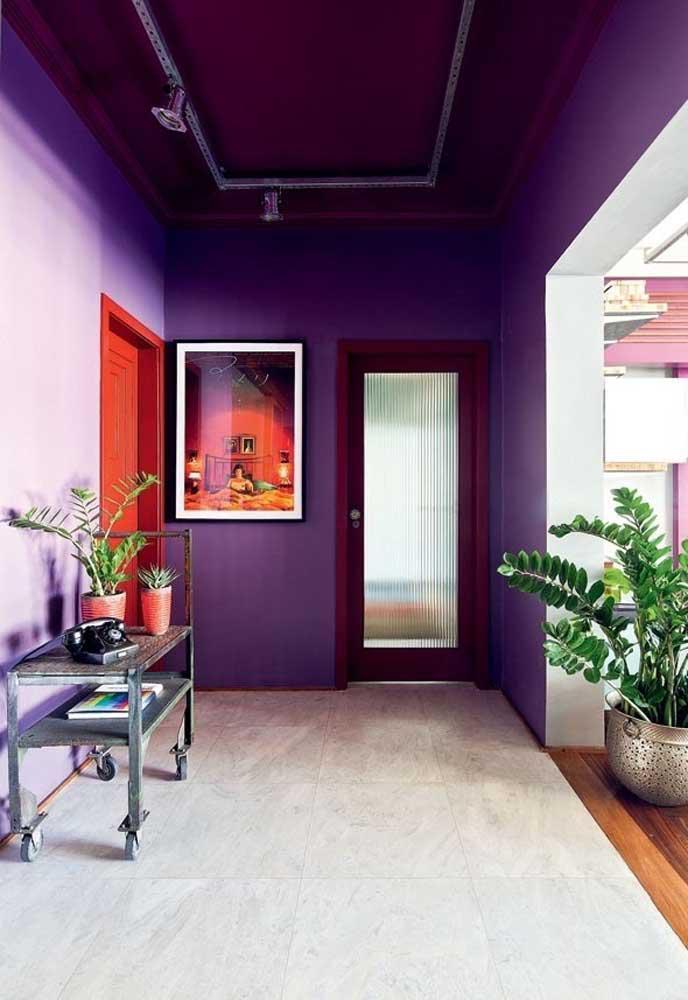 image41-4   Фиолетовый в интерьере: 60 идей, как и с чем сочетать