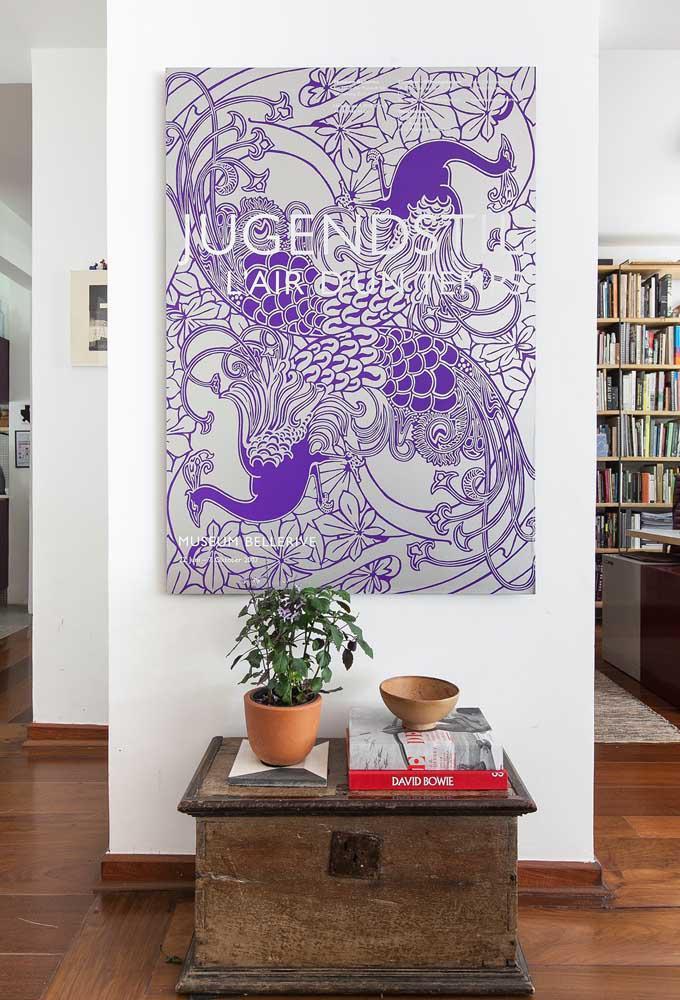 image43-4   Фиолетовый в интерьере: 60 идей, как и с чем сочетать