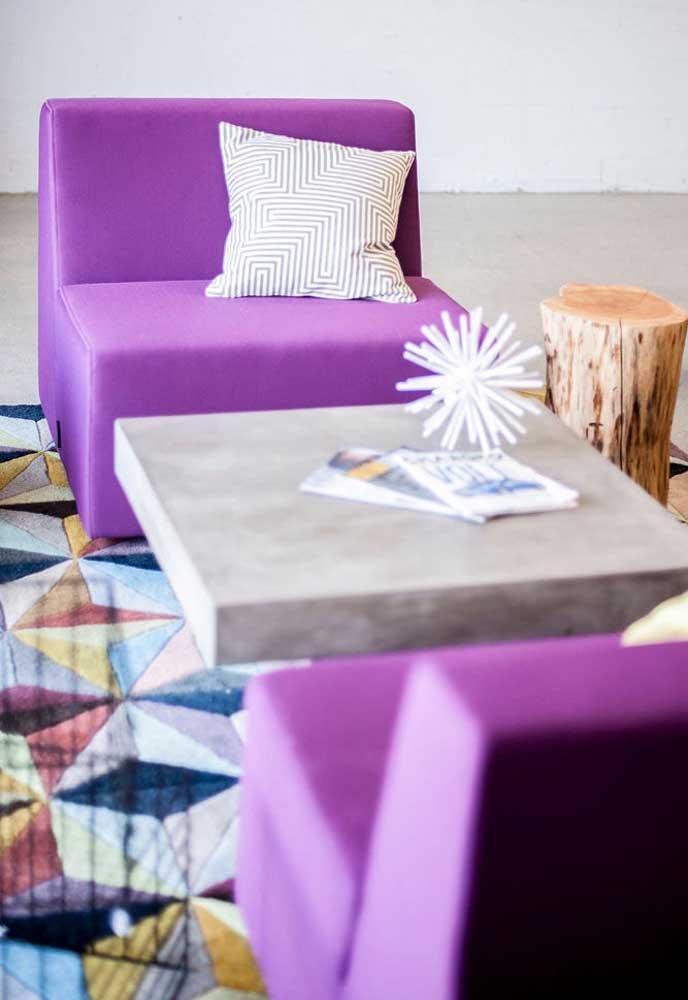 image44-4   Фиолетовый в интерьере: 60 идей, как и с чем сочетать