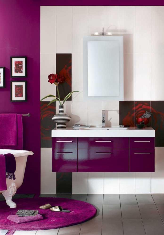 image47-3   Фиолетовый в интерьере: 60 идей, как и с чем сочетать