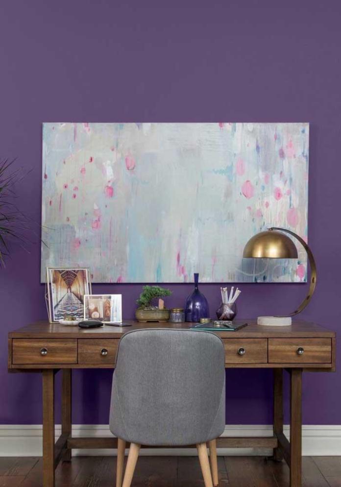 image52-2   Фиолетовый в интерьере: 60 идей, как и с чем сочетать