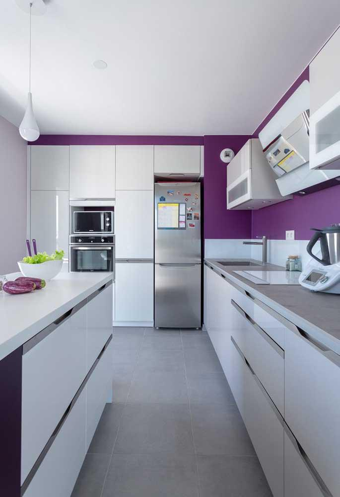 image59-2   Фиолетовый в интерьере: 60 идей, как и с чем сочетать