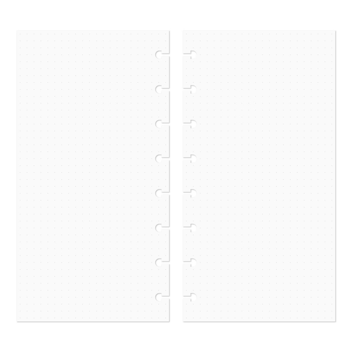 Discagenda Discbound Traveler S Notebook Insert Refills Dots