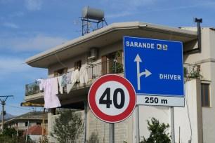 Sarande in Greek means 40 - :)