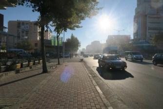 Leaving the center's smog