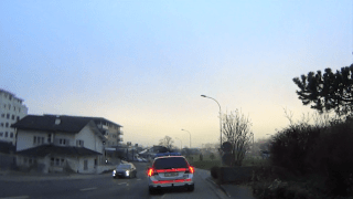 Swiss Police stopped and attempted to fine me due to excessive beauty! (...for being on the left part of the lane)
