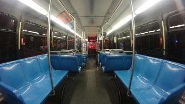 Well, a typical Boston bus
