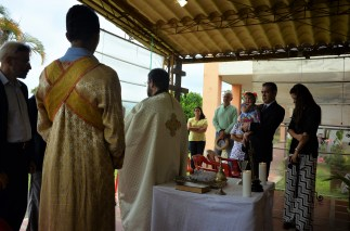 A wedding that took place after the holy week